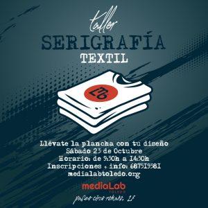 taller serigrafía en Toledo